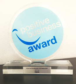 Premio Positive Business Technology