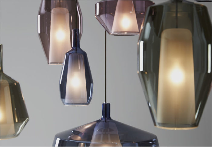 Penta Light, design lamps 100% Made in Italy